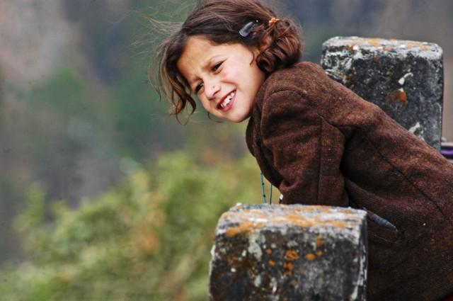 笑顔の素敵な女の子