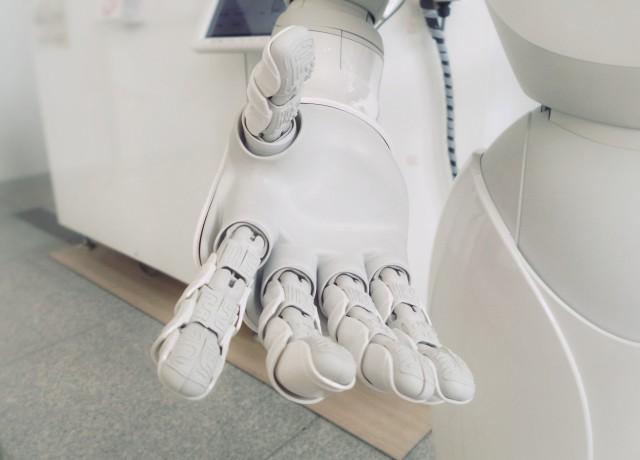 ヒューマノイドロボットの手
