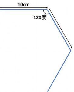 正三角形の描画_失敗