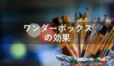 ワンダーボックス5つの効果【STEAM教育が必要な理由】